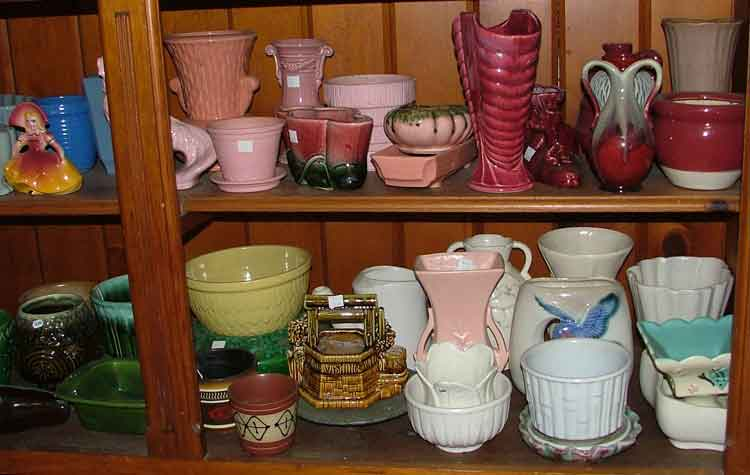 huge variety of vases and planters available at Bahoukas