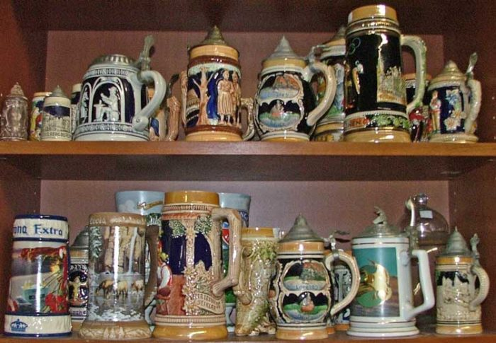 Beautiful steins to keep your summer beer cold