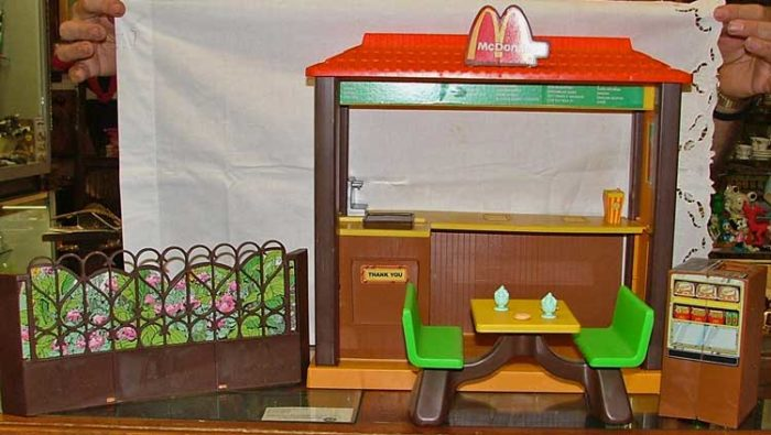 Celebrate National French Day with this McDonald's House at Bahoukas Antiques