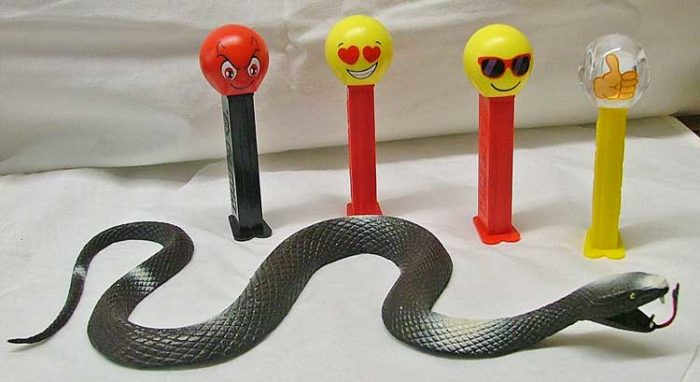 World Snake Day on July 16 or World Emoji Day on Juy 17 - join us at Bahoukas in Havre de Grace