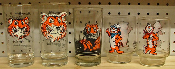 Collectible Tiger glasses to celebrate International Tiger Day available at Bahoukas