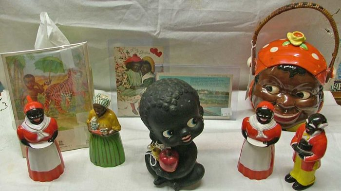 Black Memorabilia at Bahoukas Antique Mall in Havre de Grace