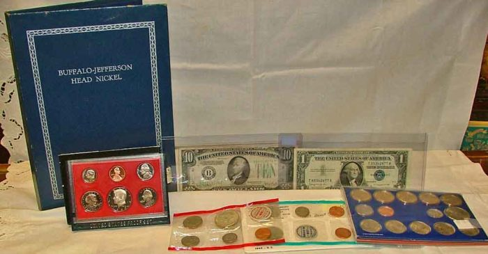 Start your coin collection at Bahoukas Antique Mall in Havre de Grace