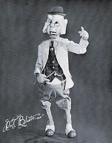 Phileas T Bluster from the Howdy Doody Show