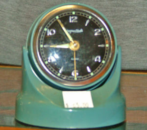 magnetic dashboard clock 1950s-1960s