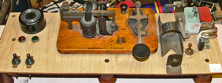 telegraph machine - see it at Bahoukas Antique Mall in Havre de Grace
