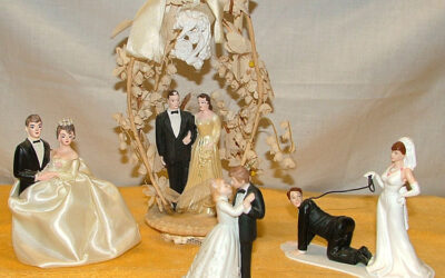 Very Collectible Wedding Toppers