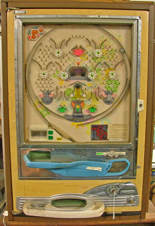 Japanese PACHINKO machine available at Bahoukas in Havre de Grace