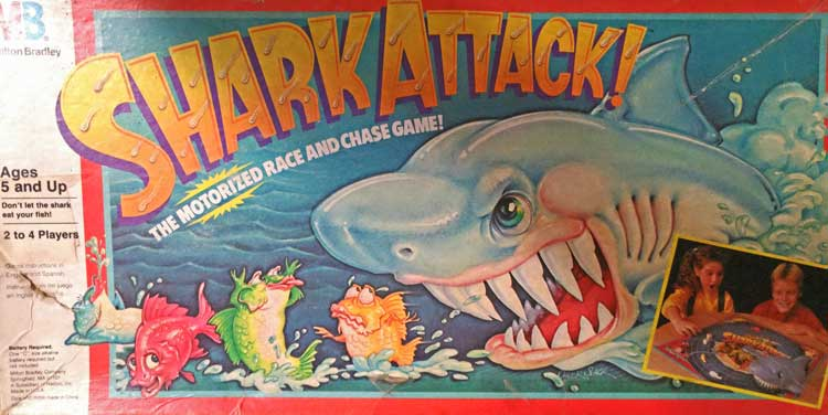 Shark Attack game at Bahoukas n Havre de Grace