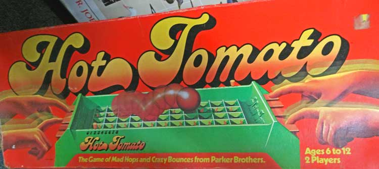 Hot Tomatoes - an active game for kids - in Bahoukas toy area in Havre de Grace