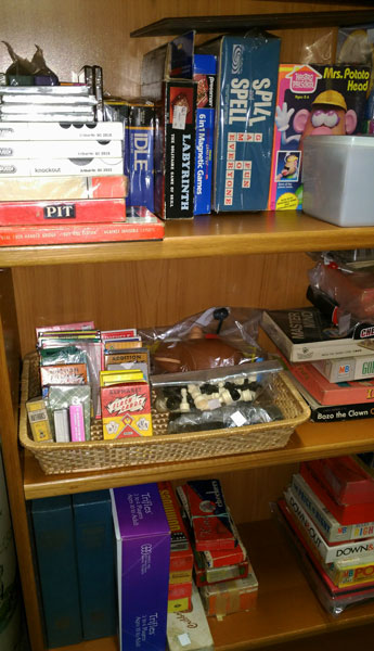 card games, dominoes, checkers, puzzles, and more at Bahoukas in Havre de Grace