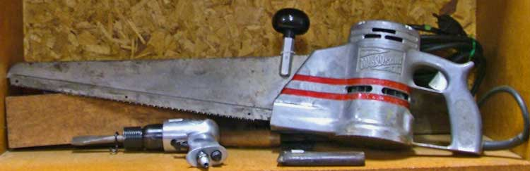 electric meat saw from Bahoukas Antique Mall