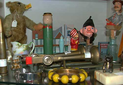 Some of our 'tiny collectibles' include musical items - tiny collections can be found at Bahoukas in Havre de Grace
