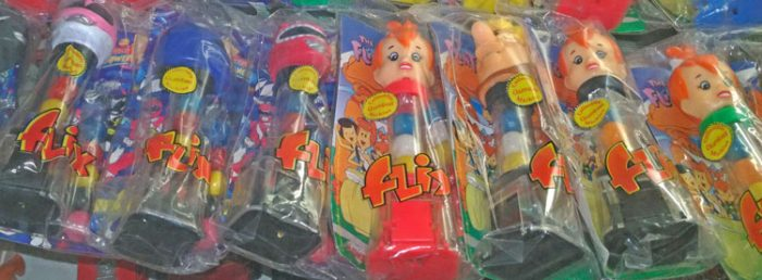 FLIX Candy Gumball Machines collection at Bahoukas in Havre de Grace, MD