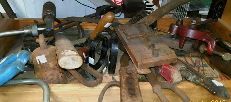 Miscellaneous collectible tools