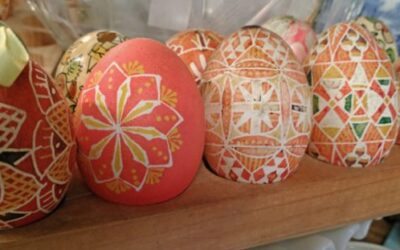 Beautiful Decorated Eggs