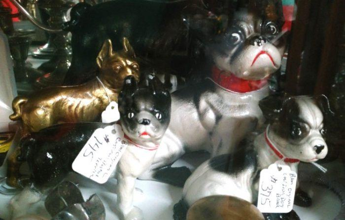 cast iron dogs - vintage - Bahoukas in Havre de Grace
