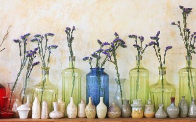 Collectibles and Flowers…