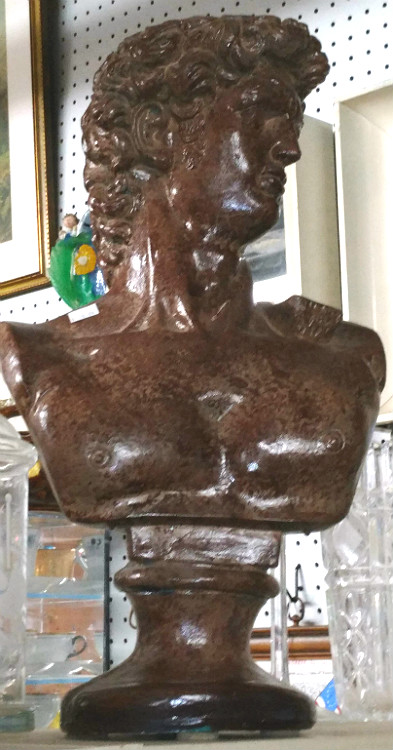 Bust of David available at Bahoukas Antiques