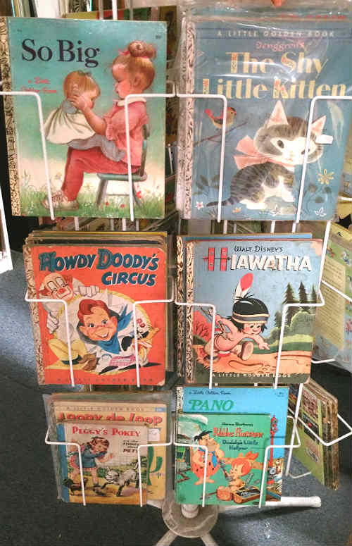 Wonderful Little Golden Books at Bahoukas in Havre de Grace