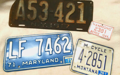 Collecting Old License Plates
