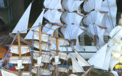 Ship Models at Bahoukas