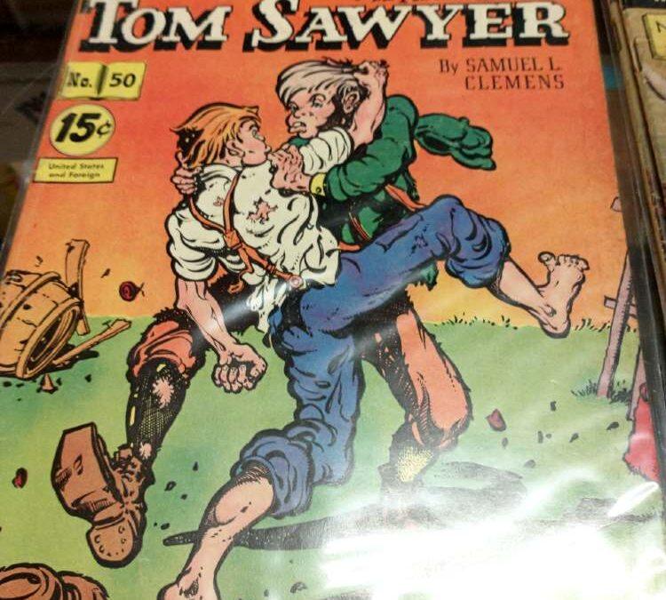Classics Illustrated comic, 1940s, Adventures of Tom Sawyer