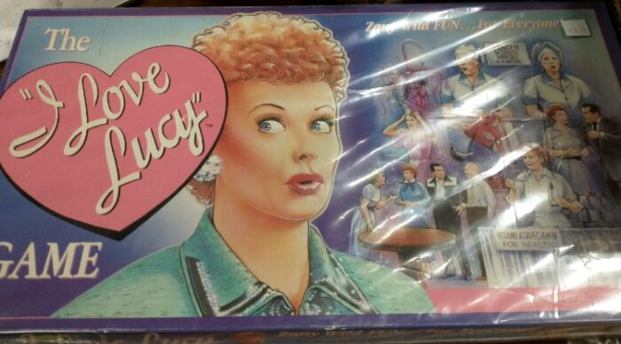 I Love Lucy Vintage Board Game