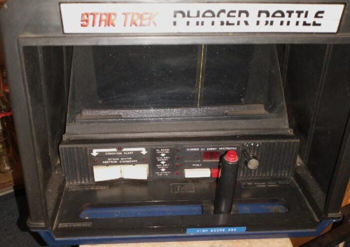 Star Trek Phaser Battle Game from 1970s