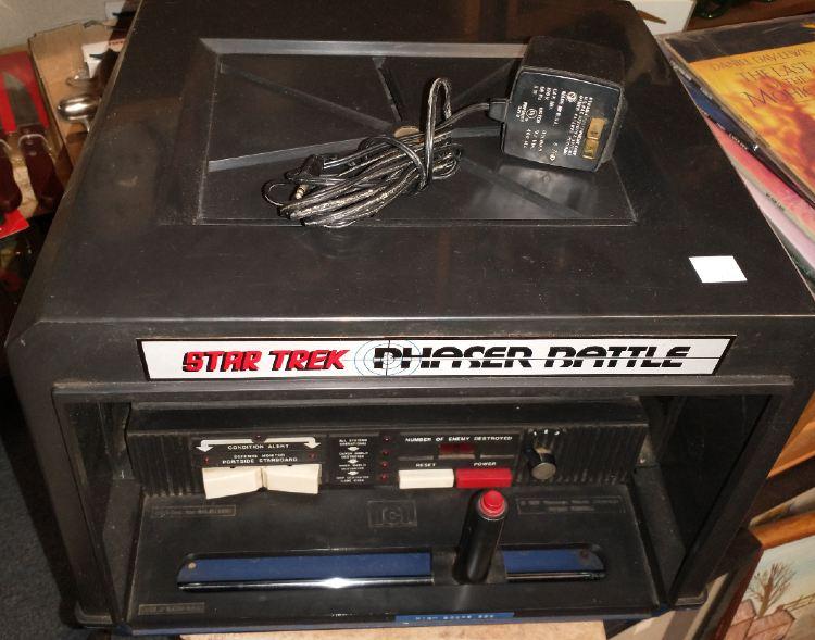 a Star Trek Phaser Battle tabletop game