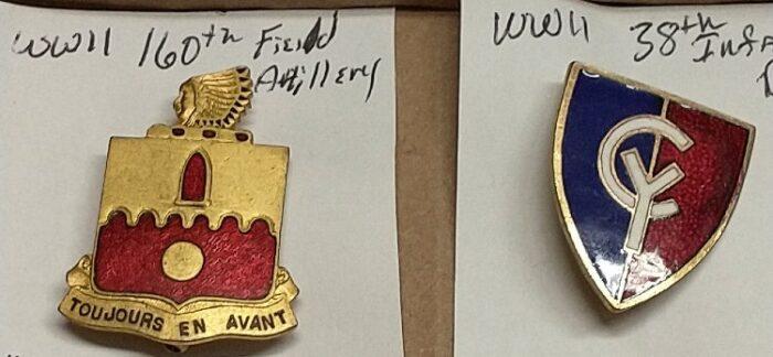 WWII Distinctive Unit Insignia