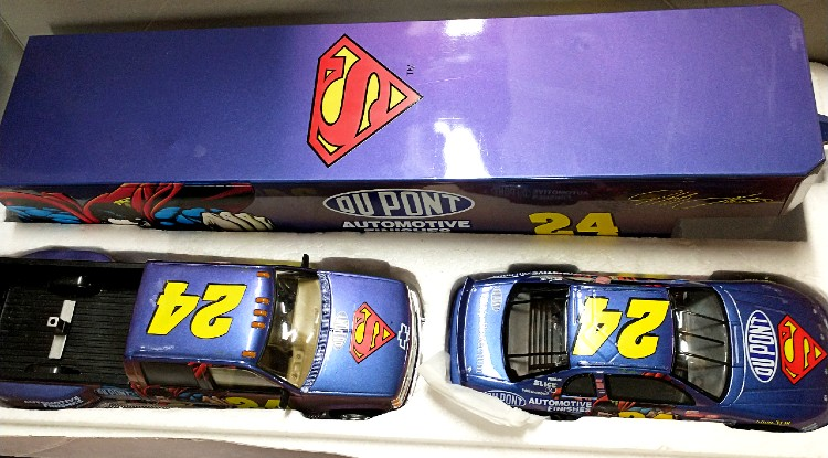 #24 Jeff Gordon Superman Collectible from Brookfield Collectors Guild