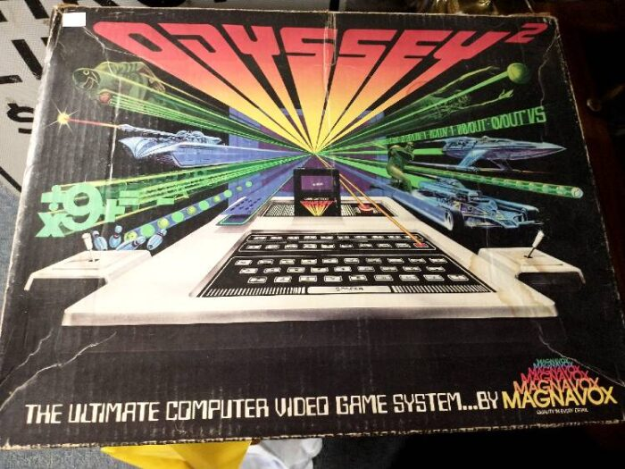 Photo of the box cover of the Odysses 2 ultimate computer video game system - available at Bahoukas in Havre de Grace