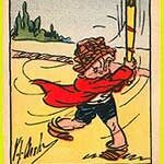 Skippy cards found in Wheaties cereal in 1933