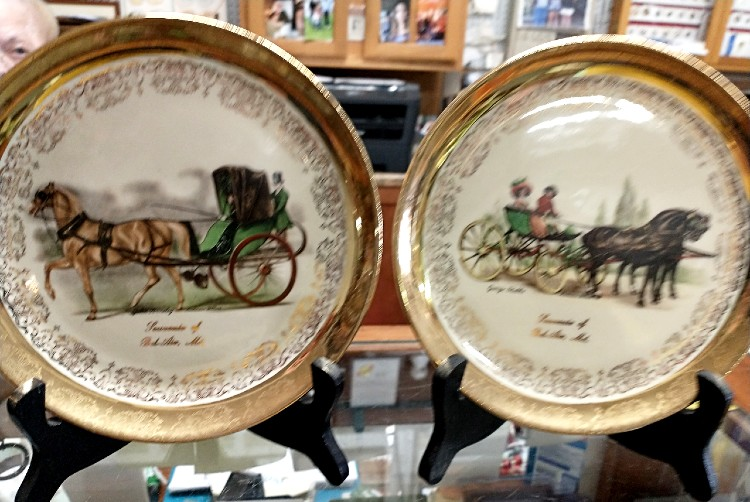 Bel Air souvenir plate from The Sabina Line