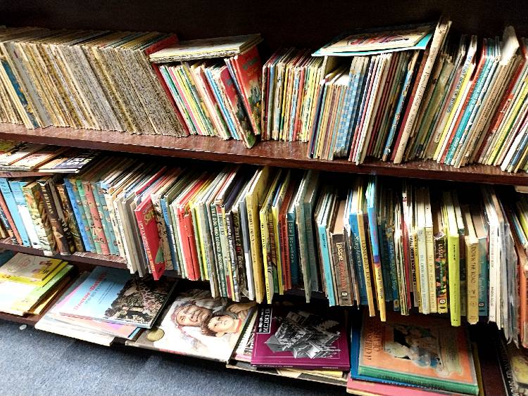 wonderful selection of collectible children's books at Bahoukas