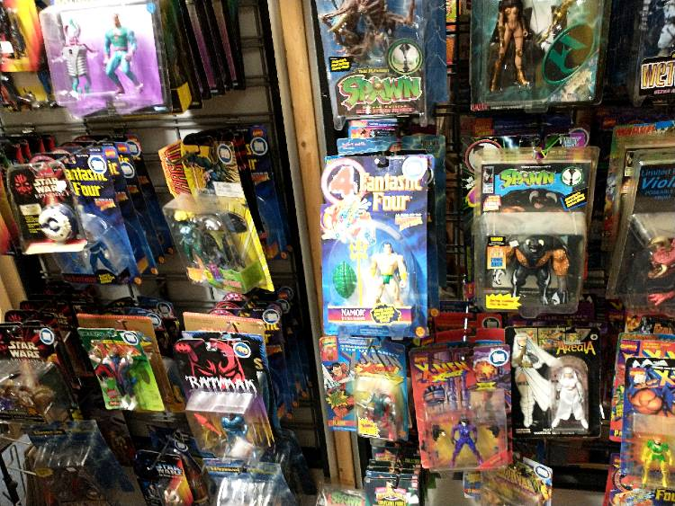 Action Figures - variety - available at Bahoukas