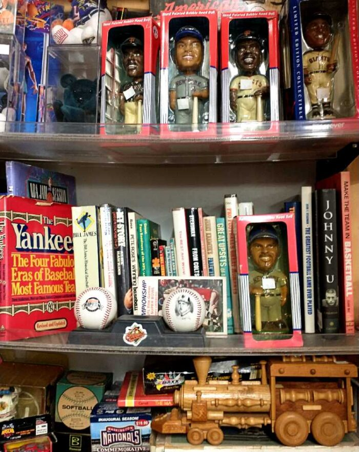Sports Books, Bobbleheads, and more at Bahoukas in Havre de Grace