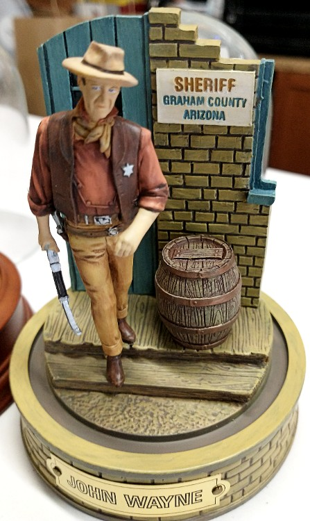 John Wayne - Sheriff of Graham County Arizona - collector's piece