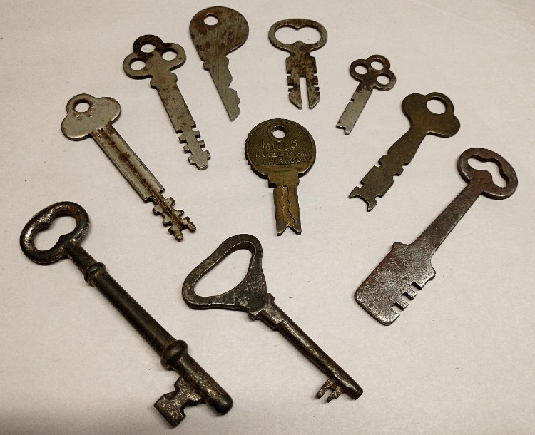 Keys from the 1930s