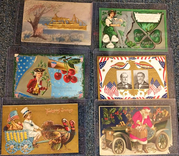 collectible postcards for holidays