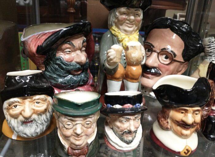 Selection of Royal Doulton Mugs and Jugs
