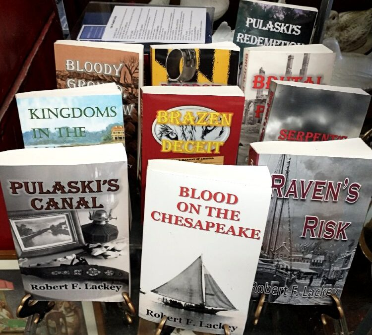Pulaski Series - books by Robert F. Lackey - all available at Bahoukas in Havre de Grace